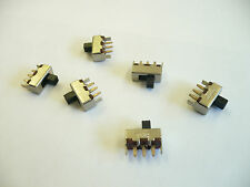 5 pcs Mini Slide Switch, Single Pole, Double Throw - pcb mount FREE Shipping,