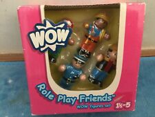 WOW Toys Role Play Friends Figures Set ref no.04090 Old figure