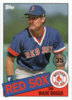 WADE BOGGS 2020 Topps Series 1 1985 35th Anniversary Card # 85-19  RED SOX