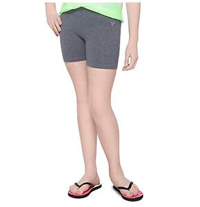Justice Girls Bike Short, Mini Leggings - Lattice compression shorts
