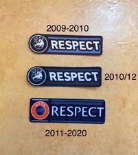patch toppa calcio respect 2009-2010-2011-2012- fino a 2020