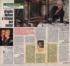Coupure de presse Clipping 1991 Brigitte Nielsen  (1 page 1/2)