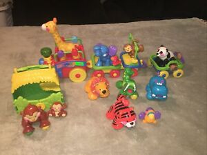 2006 Fisher-Price Amazing Animals Sing & Go Choo Choo Train-Complete Set!