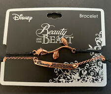 New ListingDisney Beauty & The Beast Bracelet Jewelry Rose Gold