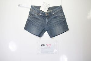 Wrangler Megan Court Customized (cod.WB77) Jeans Tg.41 W27 Femme Taille Basse |