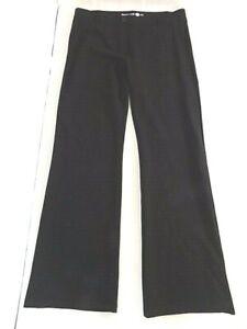Betabrand Women's Classic Pull-on Dress Yoga Pants Sz XL Black Bootcut