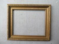 """VINTAGE FITS 16 X 13"""" GOLD PICTURE FRAME ORNATE FINE ARTS & CRAFTS"""