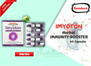 Hamdard IMYOTON Herbal Immunity Booster Protection against Infection 60 caps