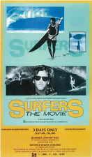 SURFERS: THE MOVIE Movie POSTER 27x40 Mike Cruickshank Mickey Dora Johnny Boy