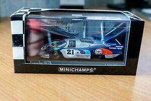 PORSCHE 917 L 24h le mans 1971 - RARE 1/43 ème minichamps 430716791