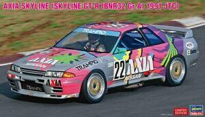 Hasegawa 20514 1/24 Scale Model Kit Axia Nissan Skyline GT-R R32 Gr.A JTC 1991