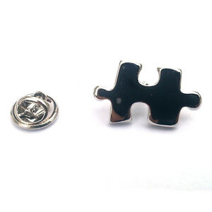 Jigsaw Piece LAPEL PIN BADGE Puzzle Tile Club Christmas Present GIFT BOX