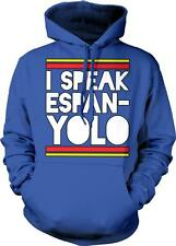 I Speak EspanYOLO You Only Live Once Spain Spanish Funny New Hoodie Pullover