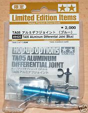 Tamiya 49425 TA05 Aluminum Differential Joint (Blue) (TA-05/TA05IFS/TA05V.2) NIP
