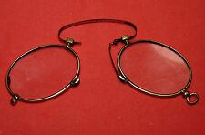 Antique Victorian Vintage Eyeglasses Nose Pinch Spectacles