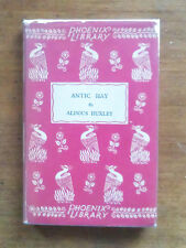 SIGNED and inscribed - ANTIC HAY by Aldous Huxley -  1st HCDJ 1929 phoenix