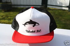 Ball Cap Hat - Ucluelet - Killer Whale Orca - British Columbia (H707)