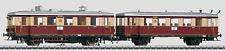 Marklin 37707 Diesel Powered Rail Car with Trailer VT135/VB140 MIB/New