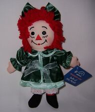 Raggedy Ann Shoe Button Eyes Dolls of Month DECEMBER Collectible New with Tags