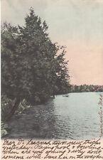 F6332 PA, Eagles Mere West Shore Postcard