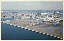 Logan International Airport, Boston, Massachusetts, Airplane, Tower - Postcard
