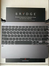 """Brydge Pro Keyboard for 12.9"""" iPad Pro (space grey, incl. charging cable) boxed."""