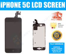 iPhone 5C BLACK Screen Touch Assembled Genuine OEM LCD Digitizer Replacement UK