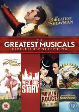 The Greatest Musicals Five-Film Collection DVD Greatest Showman Moulin Rouge