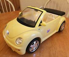 BARBIE VW Beetle Auto Giallo