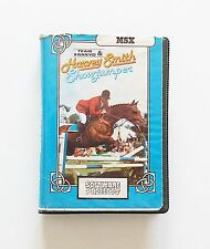 Game/Cassette Harvey smith showjumper msx (1985) (uk) (erbe-sanyo) (vintage)
