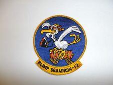 b9803  WW 2 US Navy Airship Blimp Squadron 12 Air Ship Zeppelin IR34F