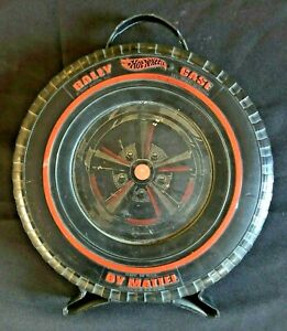 Vintage Hot Wheels Red Line Rally Case by Mattel Complete Great Graphics