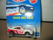 Totota MR 2 Rally  Hot wheels import tuner  collector #233