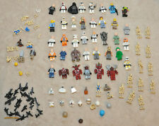 Large Lot of LEGO Minifig Mini Figures - STAR WARS and other, See Photos