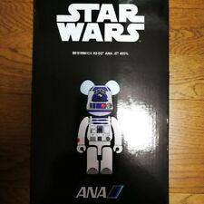 Medicom Star Wars R2-D2 x ANA Jet Be@rbrick 400% Bearbrick F/S Japan Limited