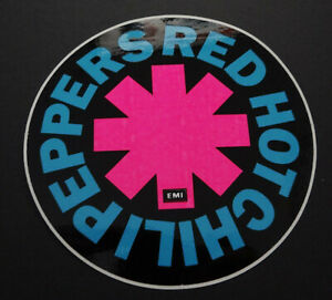 Fan-Aufkleber Red Hot Chili Peppers Logo Emi Rhcp