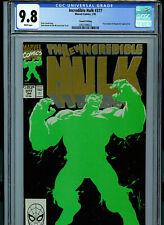Incredible Hulk # 377 CGC 9.8 NM/MT Gold logo 2nd Prinl  Amricons K25