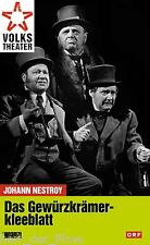 Johann Nestroy: DAS GEWÜRZKRÄMERKLEEBLATT (Volkstheater) NEU+OVP