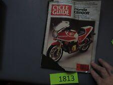 CYCLE GUIDE Magazine-NOV 1981-HONDA CB1100r XR500R-SUZ DR500X-BMW R80