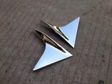 For Honda Vezel HR-V 2014-2018 ABS Chrome Rear Window Spoiler Cover Trim