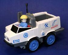 Classic Rokenbok Motorized RC Emergency Speedster Vehicle w/ Driver E112