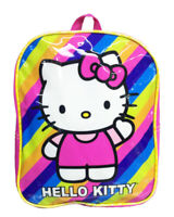 """Hello Kitty Backpack 10"""" Backpack Back to School Book Bag Girl's Toddler - Pink"""