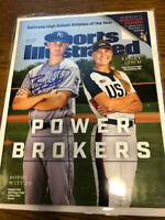 2019 Bobby Witt Jr. Kansas City Royals Autographed Signed Sports Illustrated COA