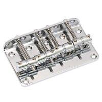 Chevalet Fixe Fixe pour Guitare Basse Compatible avec la Guitare Basse à 4 A9D9