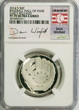 2014-S 50c Dave Winfield Baseball Hall of Fame NGC(Proof)PF-70 UC Early Releases