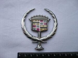 1993-96 Cadillac Deville Brougham Kühlerfigur hood ornament emblem gebraucht