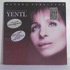 "33T Barbra STREISAND Disque LP 12"" YENTL M. LEGRAND Oscar Best Film CBS 86302"