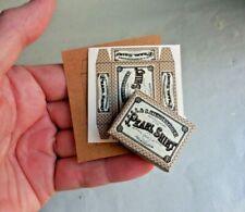 DOLLHOUSE MINIATURE ~ PEARL SHIRT BOX KITS