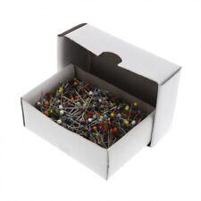 Stecknadeln 32 mm Bastelnadel 1000 wei/ße Plastikkopfstecknadeln
