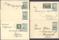 Bosnia Herzegovina - Lot of 5 Postal Stationery DX15